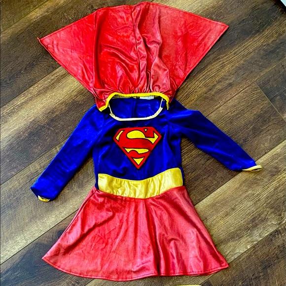 Toddler super girl costume